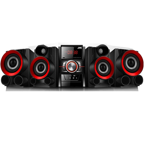 JVC MX-DN300 DVD MINI HIFI Stereo System with Bluetooth - Dual Voltage - 110-240 Volt 50/60 Hz