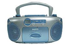 SANYO CD Radio Portable Boom Box