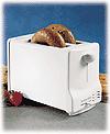 BDT Black and Decker 220-240 Volt 2 slice Toaster