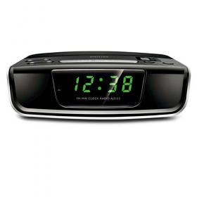 Philips AJ3122 220-240 Volt 50 Hertz Clock Radio