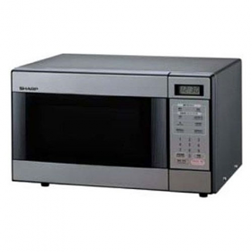 Sharp R-298 220-240 Volt 50 Hertz Stainless Steel Microwave Oven