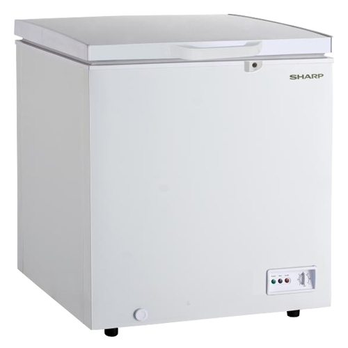 Sharp SJC168 160 Liter 220 volt Chest Freezer 220 Volt 240 Volt 50 Hz