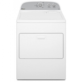 Whirlpool WED4830FW Atlantis 15 Kg Silver Electric Dryer - 220 Volt 240 Volt 50 Hz - To Use Outside North America