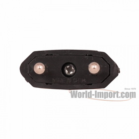 2 Round Pin Europe/Asia Plug Adapter - WMU5