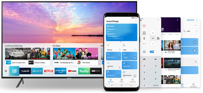 Samsung UA-75NU7100 110-240 Volt 50/60 Hz Multi System 4K SMART LED