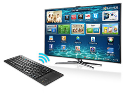 bluetooth wireless keyboard and mouse for samsung smart tv